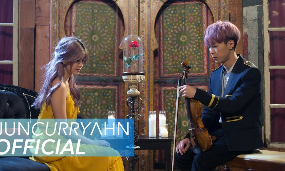 Beauty-and-the-Beast-Lindsey-Stirling-vs.-JunCurryAhn